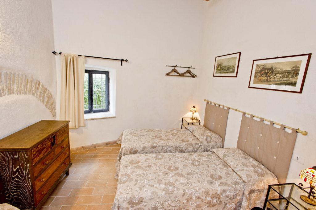 bedroom in italy