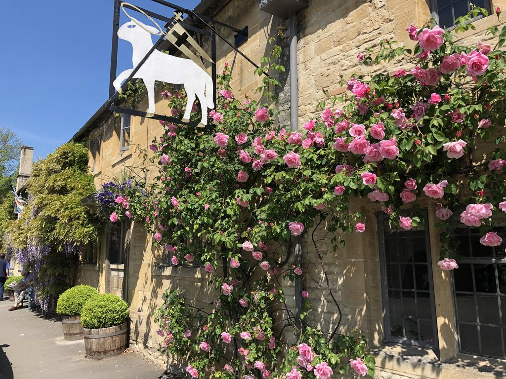 outside of a hotel in the cotswolds