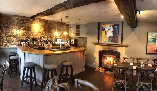 bar in a country hotel