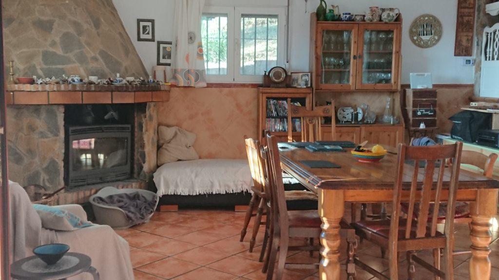 kitchen in spanish accommodation cordoba