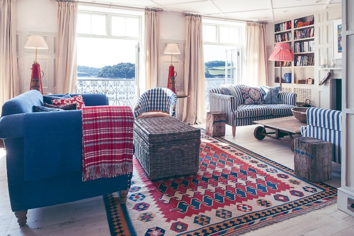 living space in hotel cornwall