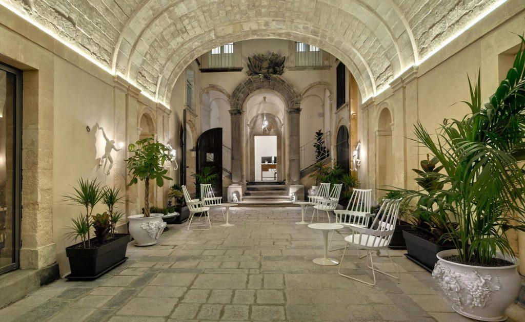 hotel lobby in palermo