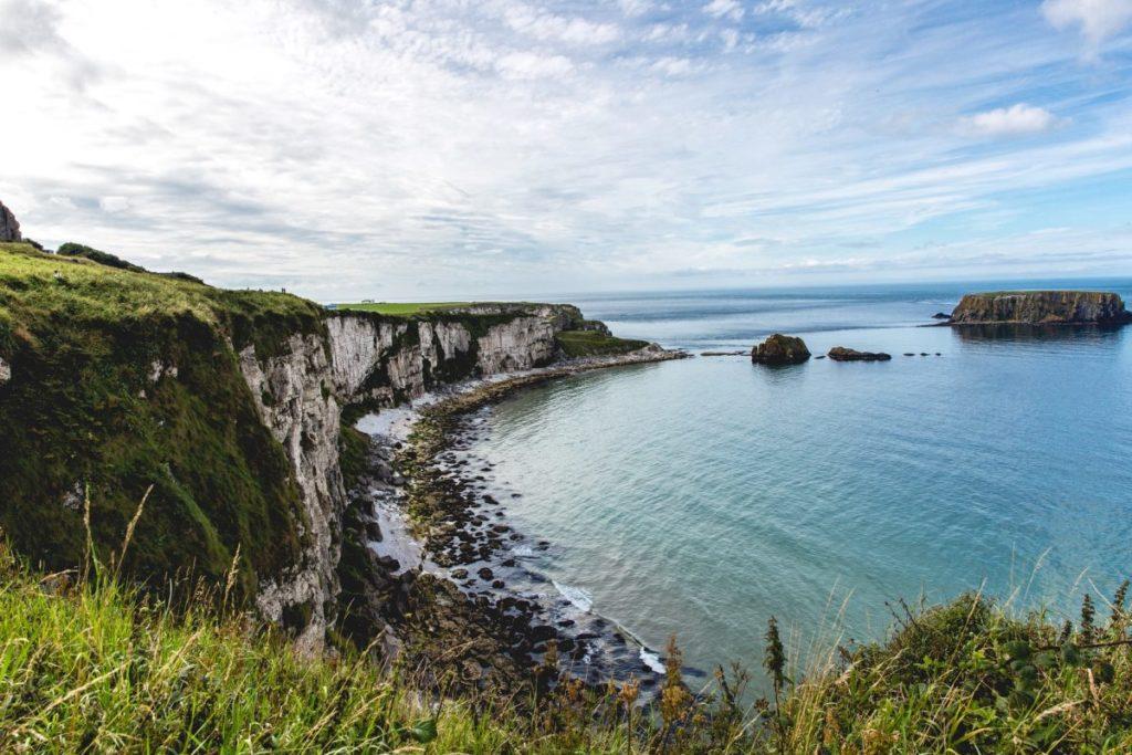 lush coastline in northern ireland