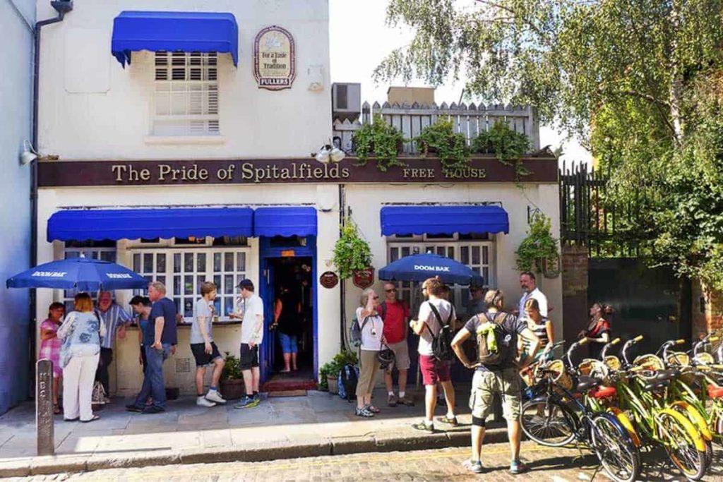 a traditional east london pub