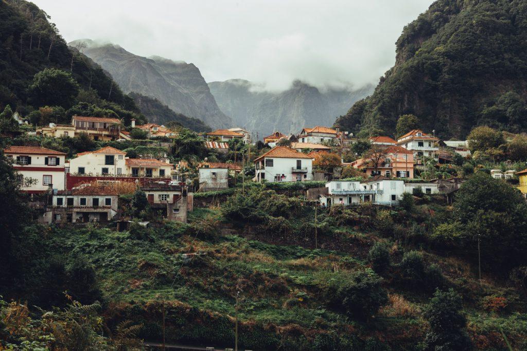 mountain village in madeira