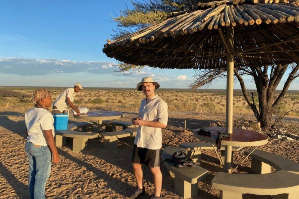 safari picnic in namibia