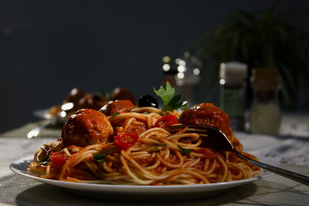 italian meat and pasta