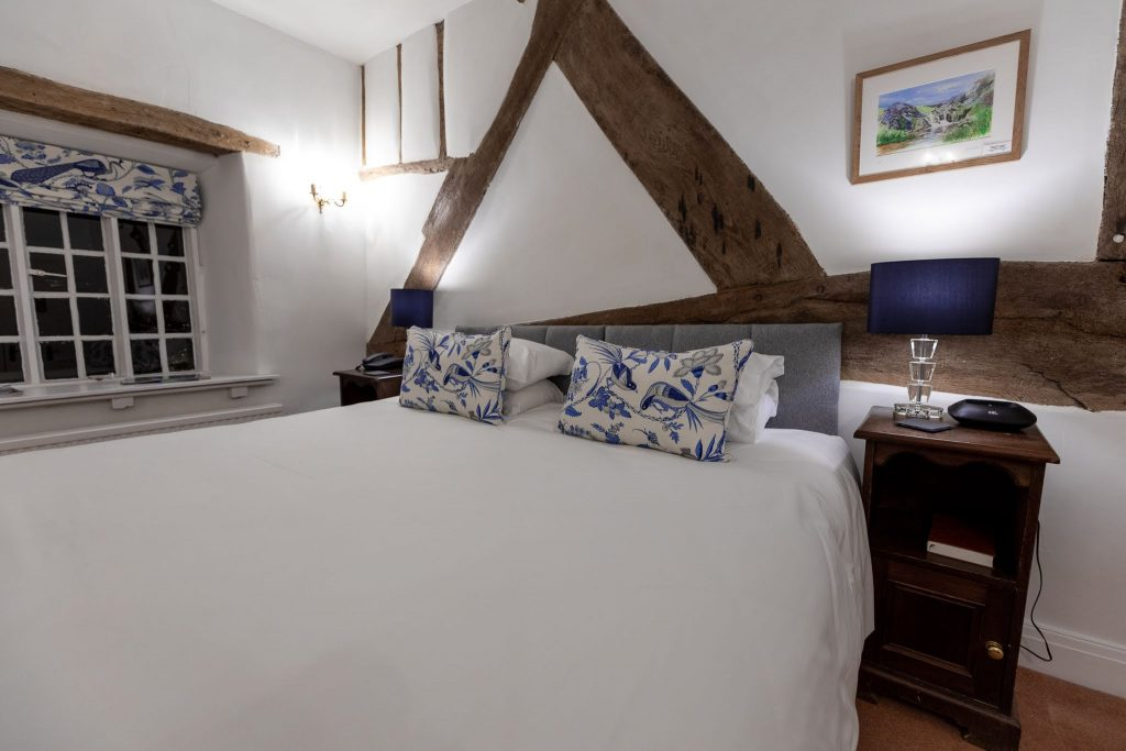 double bed in wales