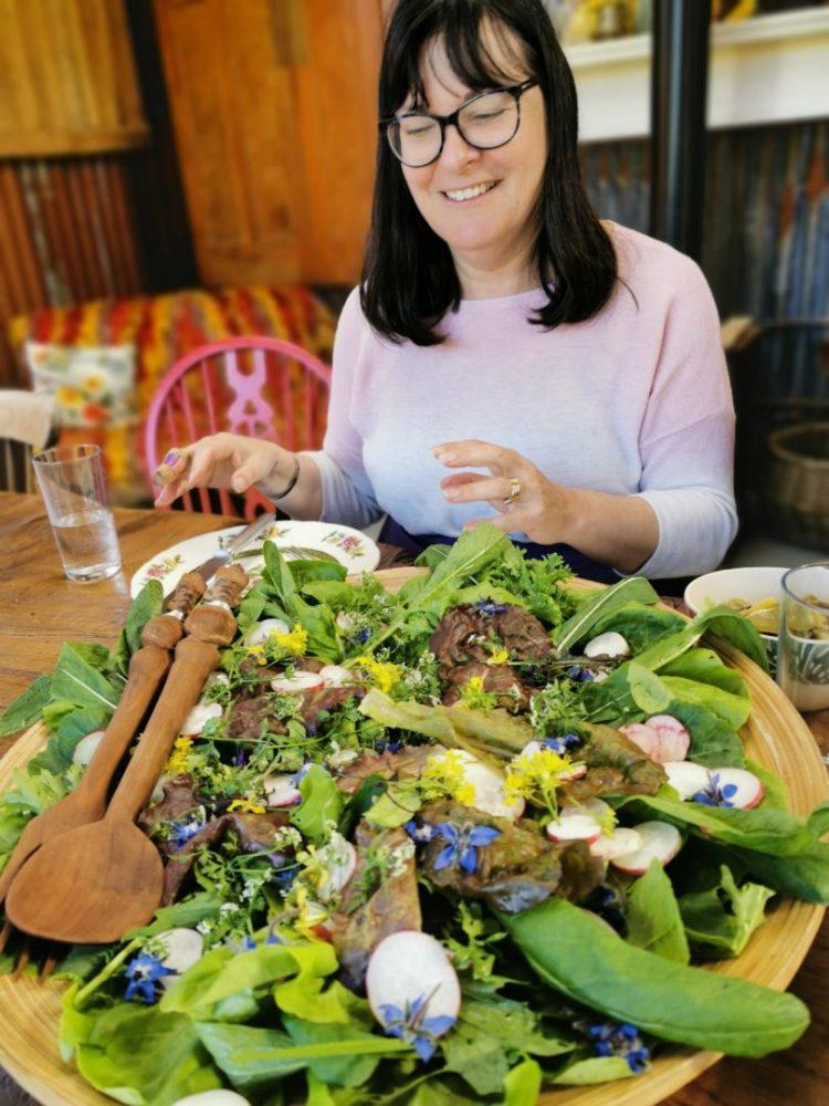 carol salad harewood farm cornwall