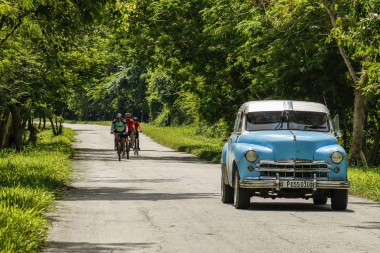 cycling holiday in cuba