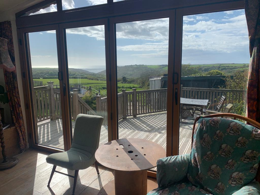 panoramic views from the window in cornwall