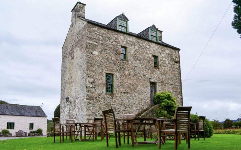 castle accommodation in scotland