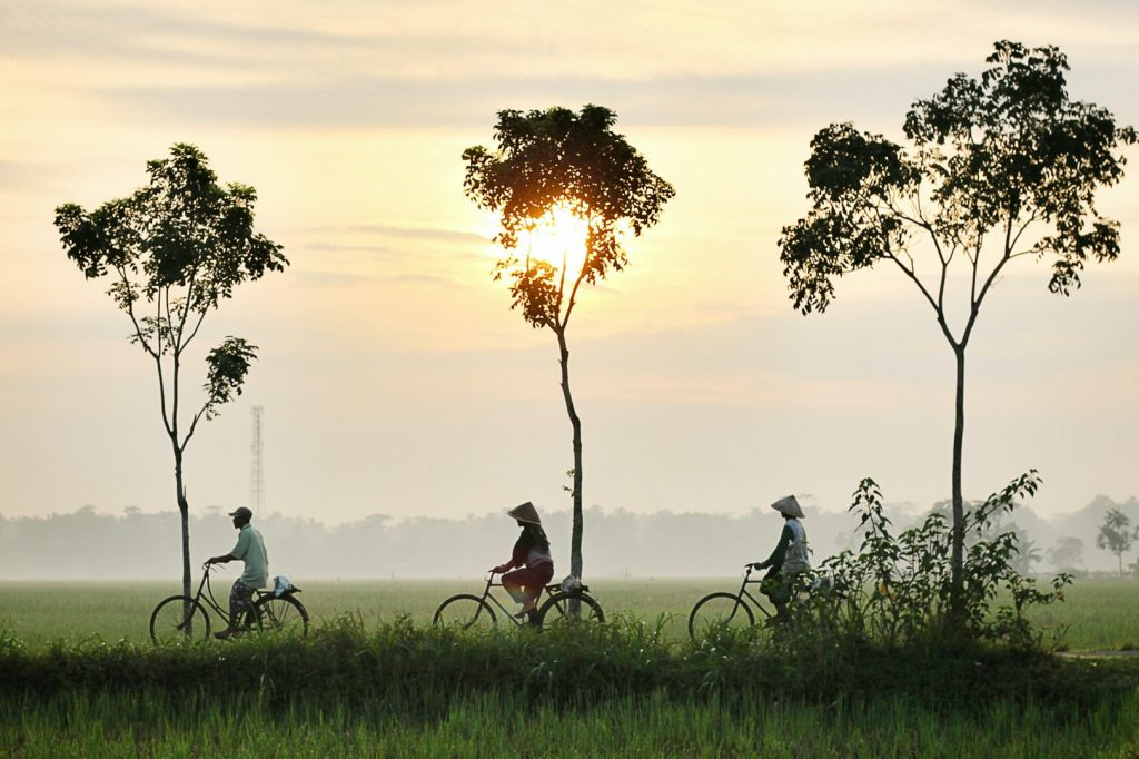 people travelling in cambodia