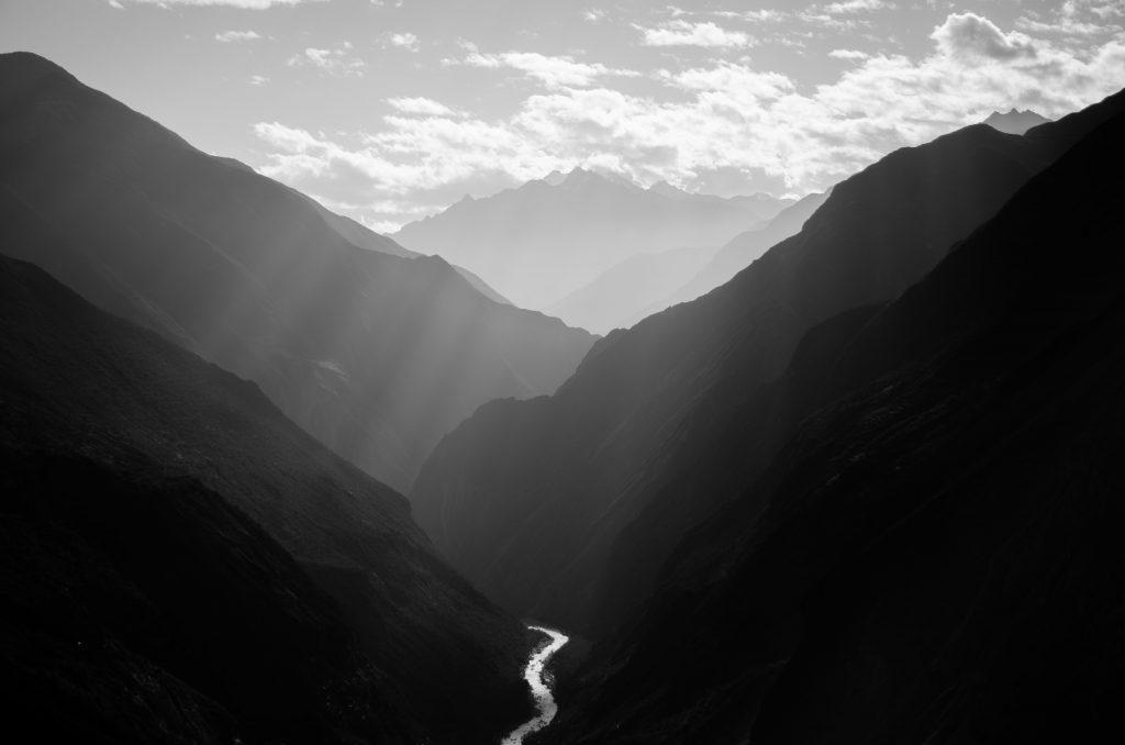 mountain valley leading to overtourism alternative