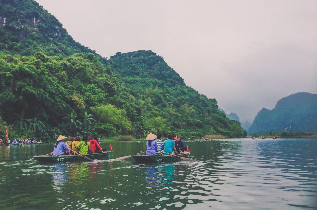 travelling with locals in vietnam