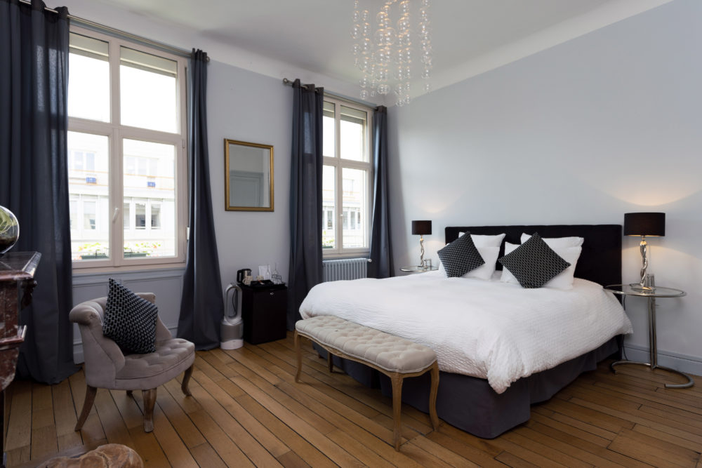 double room in a hotel in reims
