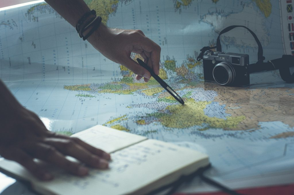 travel planning maps