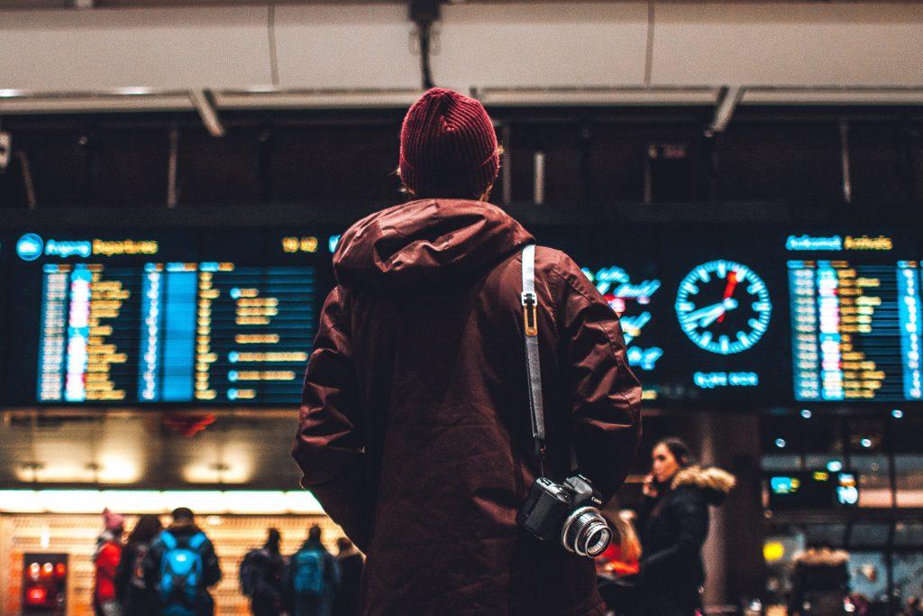 person travelling solo in oslo