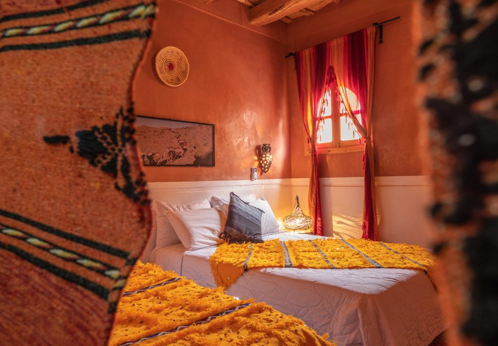 riad accommodation at dades gorges