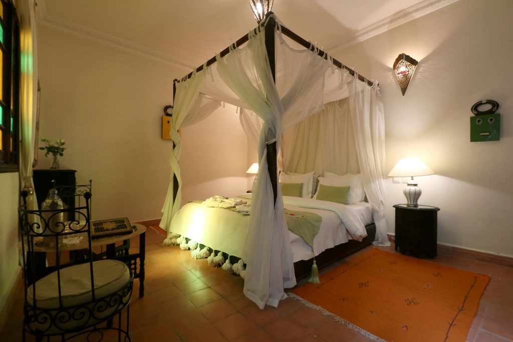 riad accommodation in marrakech