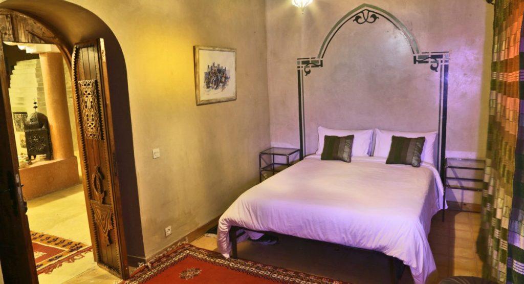 a riad double room in skoura