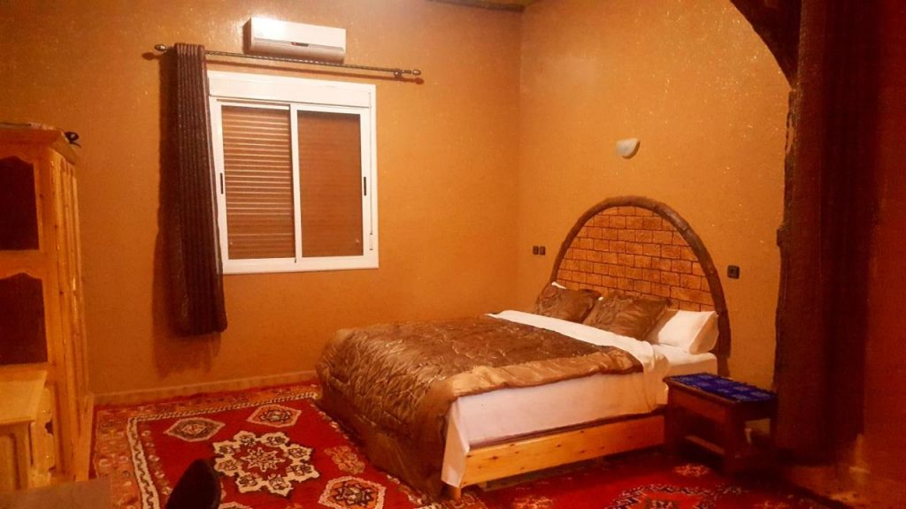 double room in a hotel in morocco